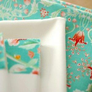 Birds & Berries Quilt Kit Aqua - Warp & Weft | Exquisite Textiles