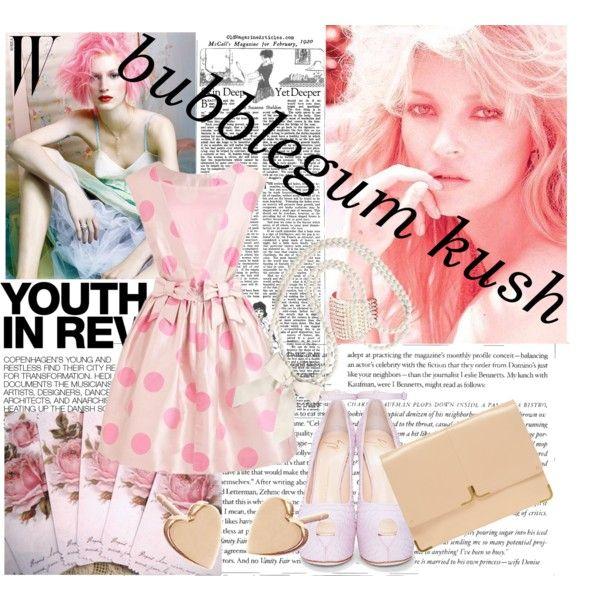 Bubblegum Kush, created by sevendollorsx9 on Polyvore
