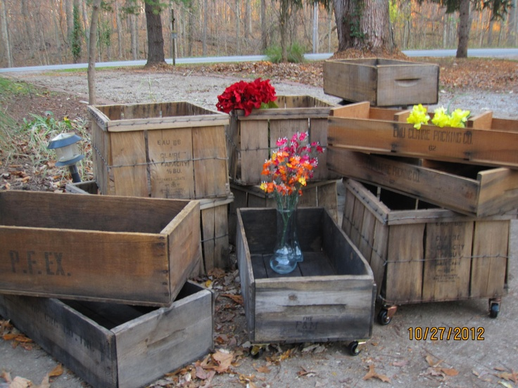 17 Best Images About Holiday Apple Crate Ideas On
