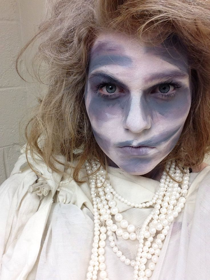 Margaret Botbyl's makeup for the role of Fruma Sarah for Fiddler on the Roof.