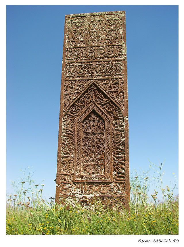 tombstone Seljuq Empire Turkiye-Bitlis-Ahlat  - Explore the World with Travel Nerd Nici, one Country at a Time. http://travelnerdnici.com/