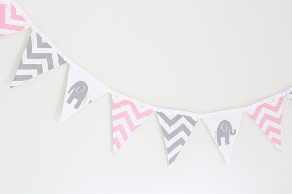 Baby Bunting  Pink Chevron Elephants and Grey Chevron  by raenne, $40.00