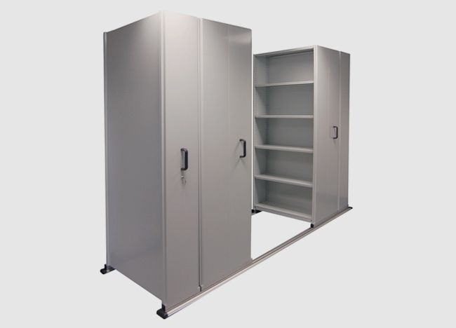 Roller File Storage mobile shelving systems
