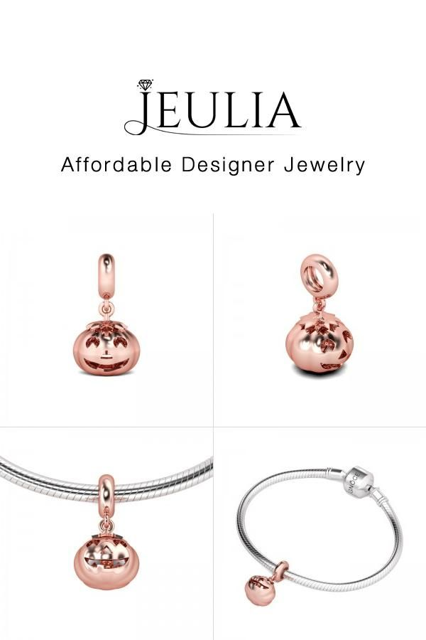 #Jeulia JEULIA Jack Lantern Charm Sterling Silver. Discover more stunning Family & Friends Charms from Jeulia.com. Shop Now!