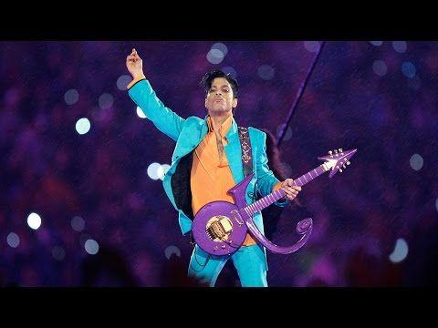 "Prince Performs ""Purple Rain"" During Downpour   Super Bowl XLI Halftime Show   NFL - YouTube"