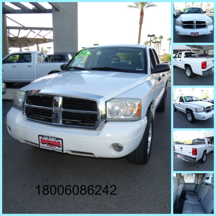 Used Truck 2006 Dodge Dakota Quad Cab SLT Pick up for sale, Transmission Automatic, color White, Miles 104,526, Model Dakota, Make Dodge, Year 2006, ABS 4 wheel, Air Conditioning, Power Windows, Power Door Locks, Cruise Control, Power Steering, Tilt Wheel, AM/FM Stereo, CD Single Disc, Dual Air Bags, Bed Liner, Alloy Wheels, Status ready to sell. For more information please call 1800 6086242