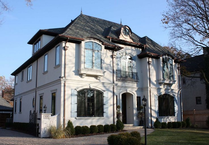 French House Styles Design Alfresco Pinterest