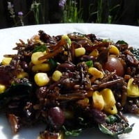 The Perfect Little Black Salad