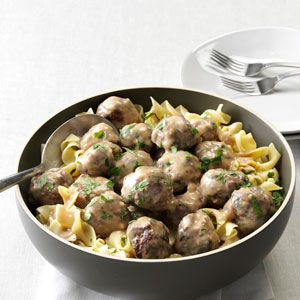 Mom-s-Swedish-Meatballs--these sound yummy! I though I remebered my Mom's Swedish meatballs having some dill relish in them though.
