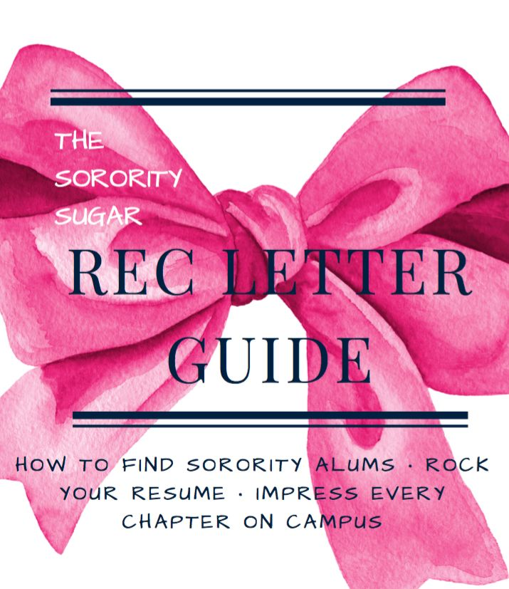 Best 50+ sororitysugarHQ images on Pinterest Sorority sugar - college recommendation letters