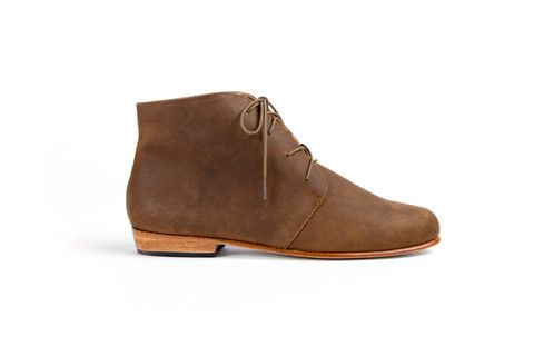Description Product Details Fit + Sizing We borrowed from the boys but we raised the bar with the Harper Chukka. Harper's clean lines and classic design are a b