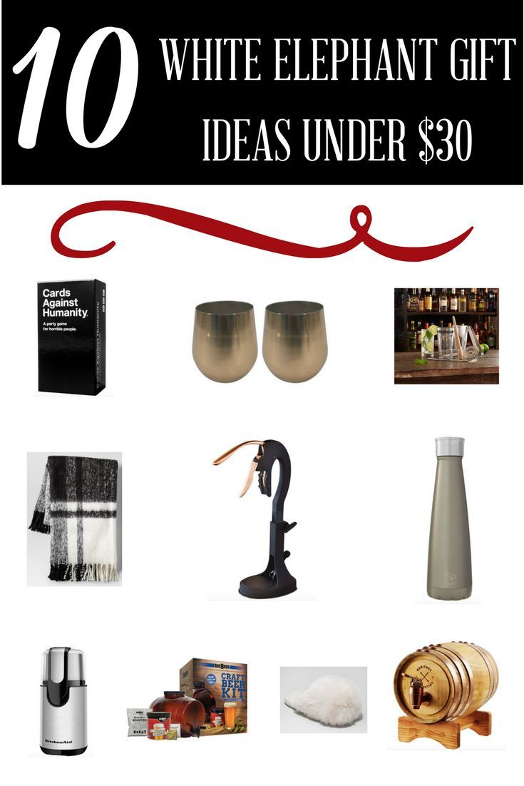 10 Awesome White Elephant Gift Ideas Under 30 Gift Giving Gifts