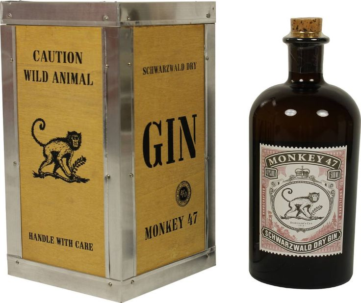 monkey 47 gin distillers cut 2014 2015 0 5l mit einer feinen species rara veredelt gin. Black Bedroom Furniture Sets. Home Design Ideas