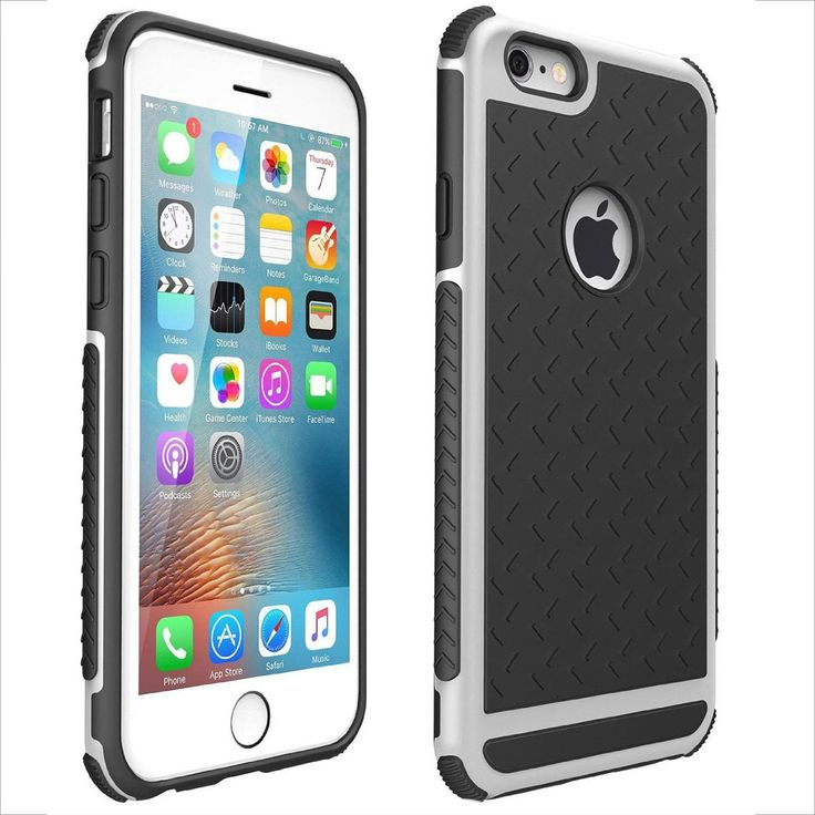 Thin Ultra Shockproof Rubber Case – Anti-Slip Design Cover for Apple iPhone 6/6S/Plus