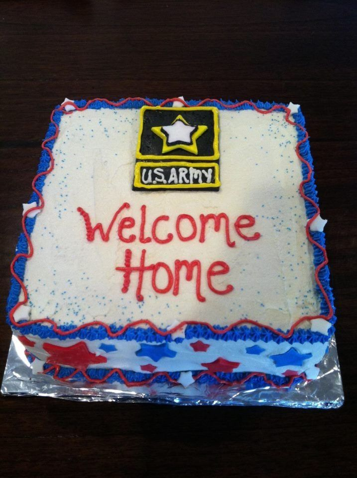 Cake ideas for welcome home