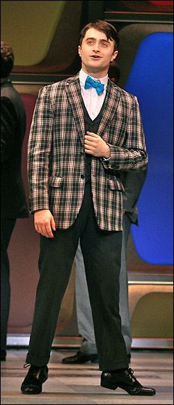 Daniel Radcliffe! In How to Succeed in Business Without Really Trying