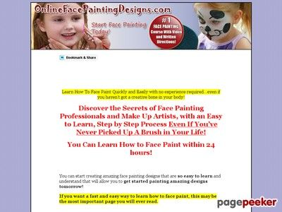 Face Painting Designs - How To Face Paint - Face Painting Courses