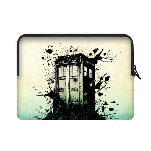 "Doctor Who TARDIS Art of Tradis Sleeve for 15.4"" 15.6"" Laptop"
