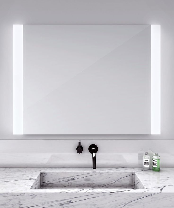 Novo Vertical Lighted Mirror by Electric Mirror