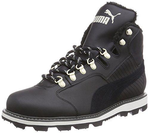Puma Tatau Fur Boot, Herren Hohe Sneakers, Schwarz (black-black 04)