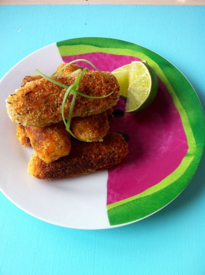 Sweet potato croquettes recipe soon online love for Afro caribbean cuisine