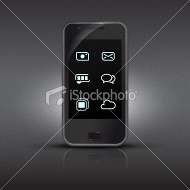 Smart Phone -  Royalty Free Stock Vector Art Illustration