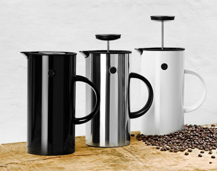 Kávovar EM77, steel   DesignVille