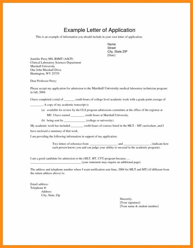 How To Write An Application Letter Template Business Application Letters Writing An Application Letter Application Letter Template
