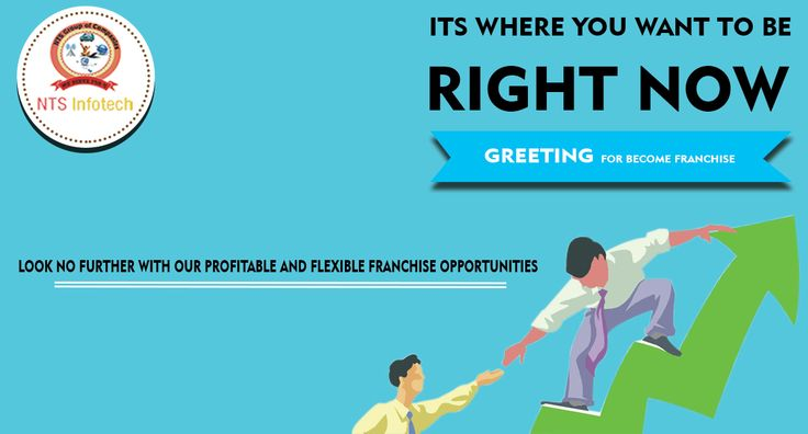 NTS Infotech offers profitable and flexible franchise opportunities . For more visit-  www.ntsinfotechindia.com
