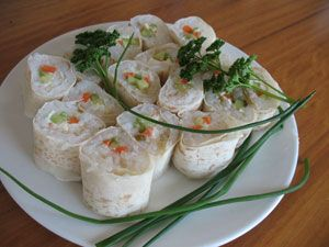 Failsafe sushi (contains gluten) - Food Intolerance Network MAKE WITH MOUNTAIN BREAD FOR GLUTEN FREE