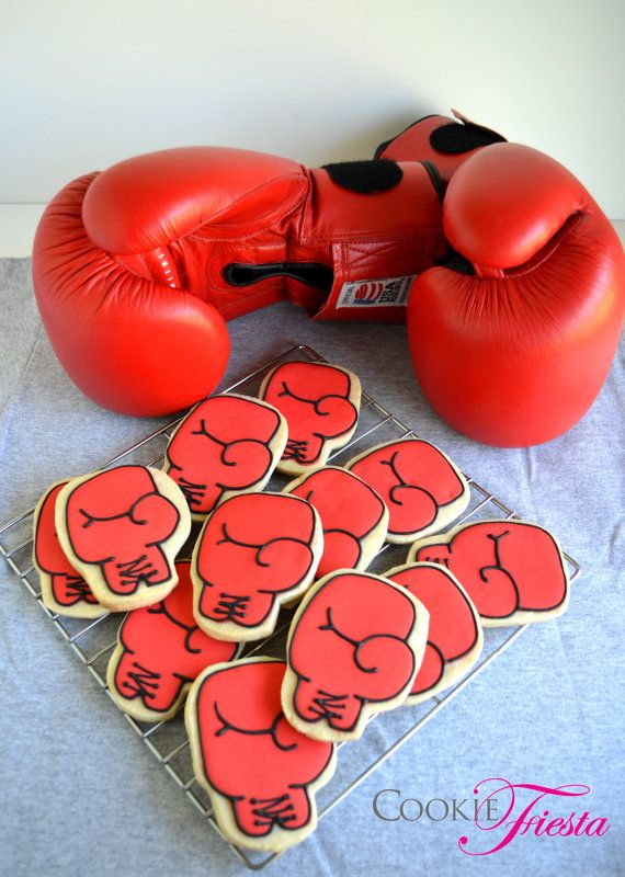 Shiv Naresh Teens Boxing Gloves 12oz: Top 25 Ideas About Sport Designs Decorated Cookies And