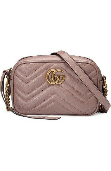 62778e40c2e GUCCI Gg Marmont 2.0 Matelassé Leather Shoulder Bag.  gucci  bags  shoulder  bags  lining  suede
