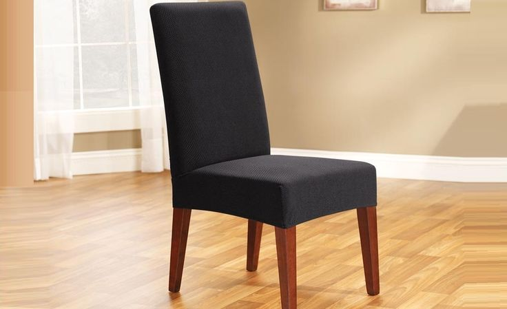 Ebony Pearson Dining Chair Cover by Sure Fit
