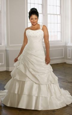 wedding dresses for the busty body type