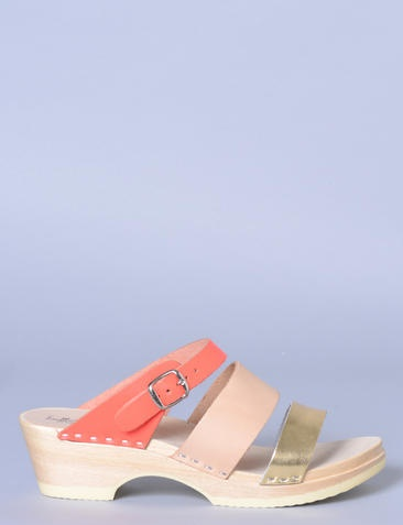 Loeffler Randall slip-on buckle clogs at Bird : ShopBird.com