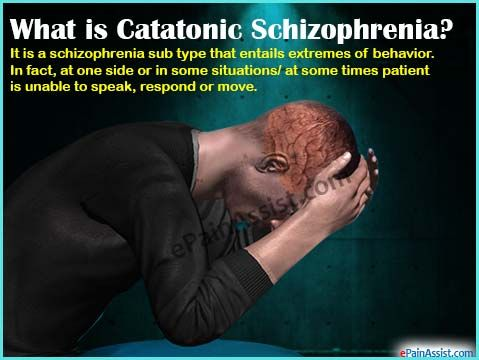 What is Catatonic Schizophrenia