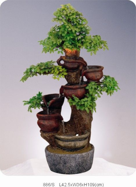 Image detail for indoor water fountains china garden for Homemade tabletop water fountain