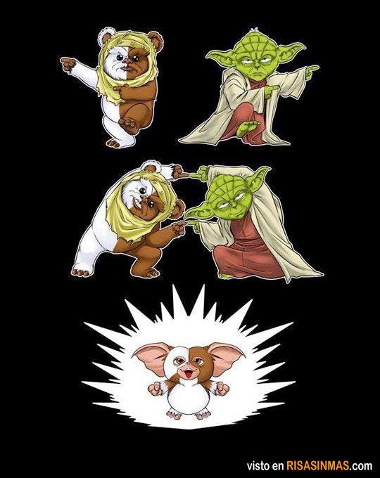 Así nacieron los Gremlins.