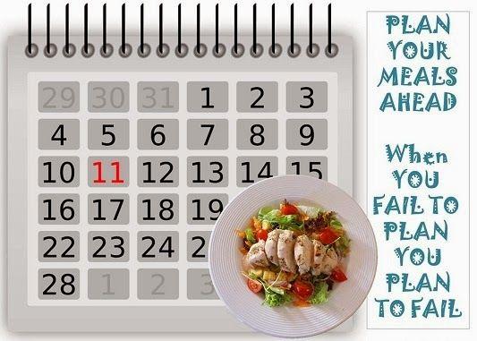 weekly healthy meal plan