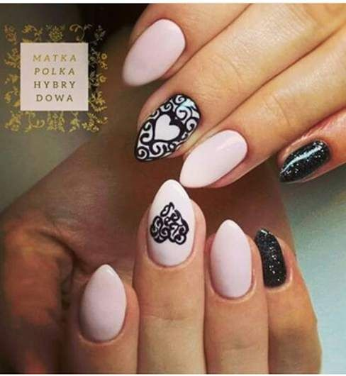 60 best nails for women images on Pinterest | New year\'s nails, New ...