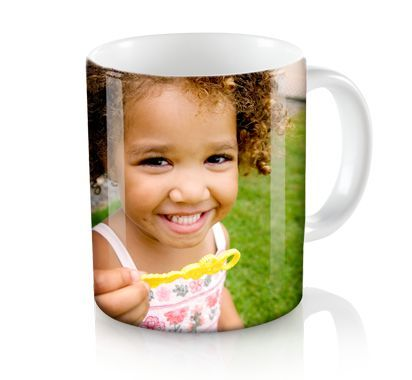 20oz. Big Picture Mug With a picture of Henry for the parents...(crazy dog lovers)
