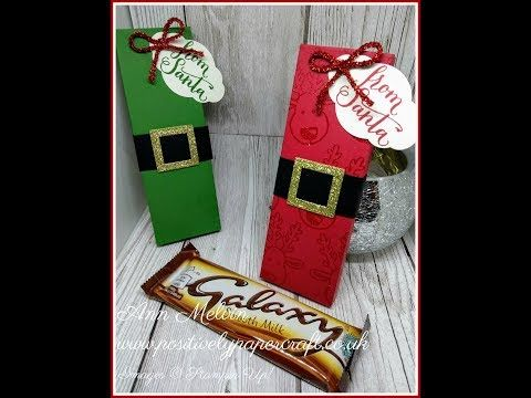 #3 Craft Fair Series Sunday Festive Chocolate Gift Box - YouTube