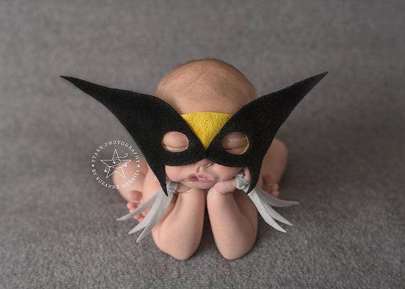 Newborn Wolverine Superhero - Halloween Costume for Baby Boy - Superhero for Boy - Wolverine Photography Prop
