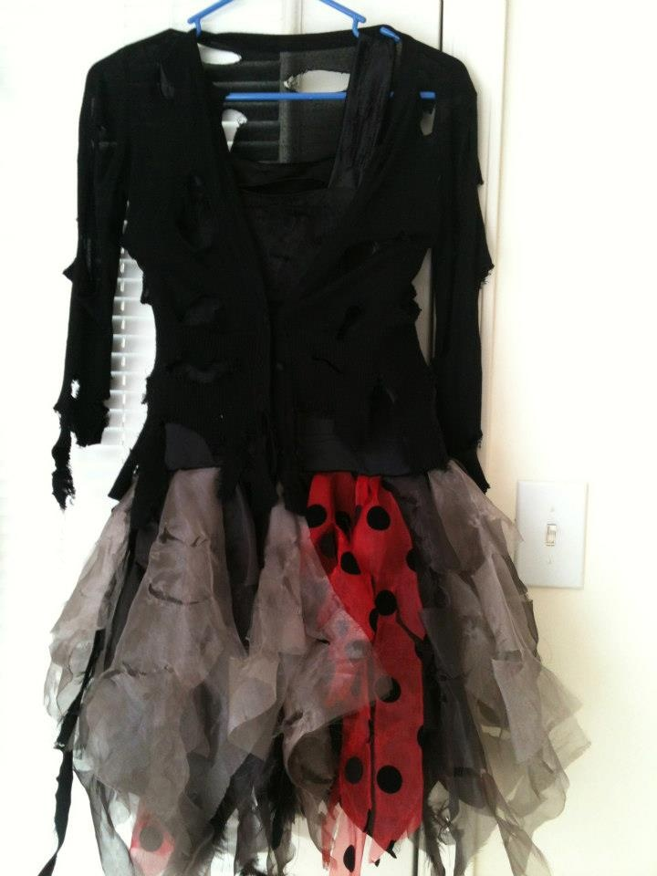 Zombie party costume (2012)  -Sold out-