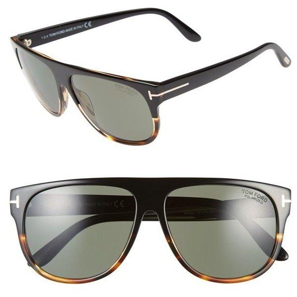 Men's Tom Ford 'Kristen' 59Mm Polarized Aviator Sunglasses (25.715 RUB) ❤ liked on Polyvore featuring men's fashion, men's accessories, men's eyewear, men's sunglasses, mens aviator sunglasses, mens flat top sunglasses, mens eyewear, tom ford mens sunglasses and mens sunglasses