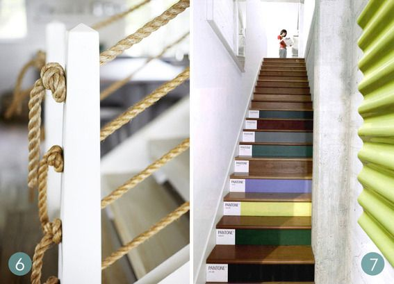 If you're looking to update your #staircase, but don't know where to start, here are some jump-off points!