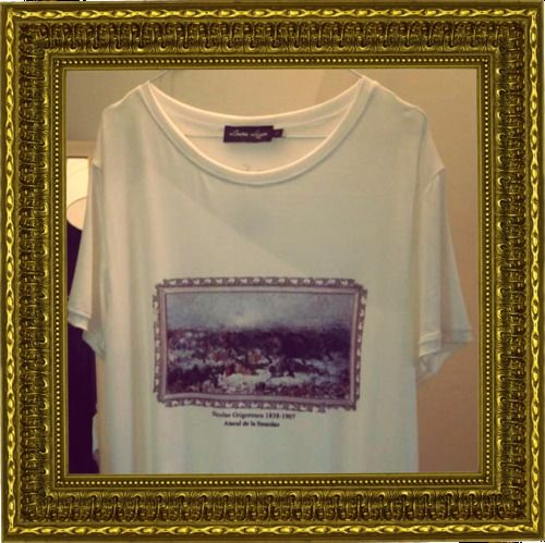 176 years ago, Nicolae Grigorescu was born in a small village in Romania, and today we celebrate his work. Wear it with pride! This t-shirt is available in our showroom and online at http://lauralazar.com/shop/en/romanian-treasure/75-nicolae-grigorescu.html