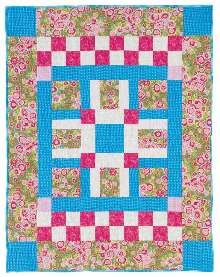 26 best Basic, Fast and Easy Patchwork Patterns for Beginners images on Pinterest Patchwork ...