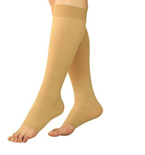 Maternity Compression Socks  Pregnancy Stockings  Leggings Knee High Open Toe >>> Read more  at the image link.Note:It is affiliate link to Amazon.