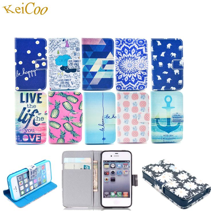 >> Click to Buy << Sew Phone Cases For Apple iPhone6S PU Leather Art Print Covers Cute Wallet TPU Shell For iPhone 6 6S 6 S Book Flip Full Housing #Affiliate